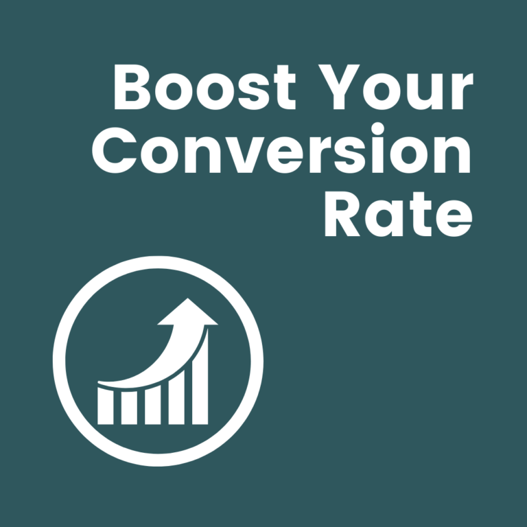 Boost your conversion rate with info graphic
